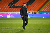 27th December 2019; Dens Park, Dundee, Scotland; Scottish Championship Football, Dundee Football Club versus Dundee United; Dundee manager James McPake inspects the pitch before the match - Editorial Use