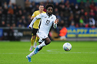 Nathan Dyer of Swansea City in action during the Sky Bet Championship match between Swansea City and Millwall at the Liberty Stadium in Swansea, Wales, UK. Saturday 23rd November 2019