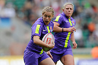 Kay Wilson of England during the iRB Marriott London Sevens at Twickenham on Sunday 13th May 2012 (Photo by Rob Munro)