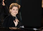 France, Paris, Sophie Guillemin arrive à la cérémonie des César 2014, Théatre du Chatelet