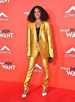 LOS ANGELES, CA. January 28, 2019: Kelly Rowland at the US premiere of &quot;What Men Want!&quot; at the Regency Village Theatre, Westwood.<br /> Picture: Paul Smith/Featureflash
