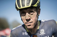Last years champion Mathew Haymen (AUS/Orica-Scott) after finishing 11th in this years edition of Hell<br /> <br /> 115th Paris-Roubaix 2017 (1.UWT)<br /> One Day Race: Compi&egrave;gne &rsaquo; Roubaix (257km)