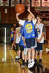 Warriors Basketball camp at Foothill College, June 22, 2011.