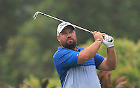 Brendon De Jonge (ZIM) on the 4th tee during Round 3 of the CIMB Classic in the Kuala Lumpur Golf & Country Club on Saturday 1st November 2014.<br /> Picture:  Thos Caffrey / www.golffile.ie