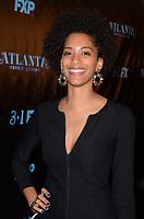 "ATLANTA, GA - FEBRUARY 26: Stefani Robinson attends a screening of FX's ""Atlanta, Robbin' Season"" at Starlight Six Drive In on February 26, 2018 in Atlanta, Georgia.(Photo by Tonya Wise/FX/PictureGroup)"