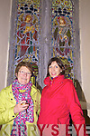 Pictured at  'Valentia through the lens' photographic exhibition in Knighstown's St John the Baptist's Protestant Church on Saturday last were Hillary & Mary Graves descendants of James & Anne Graves - James Graves was the first Superintendent of the Anglo-American Telegraph Station on Valentia.