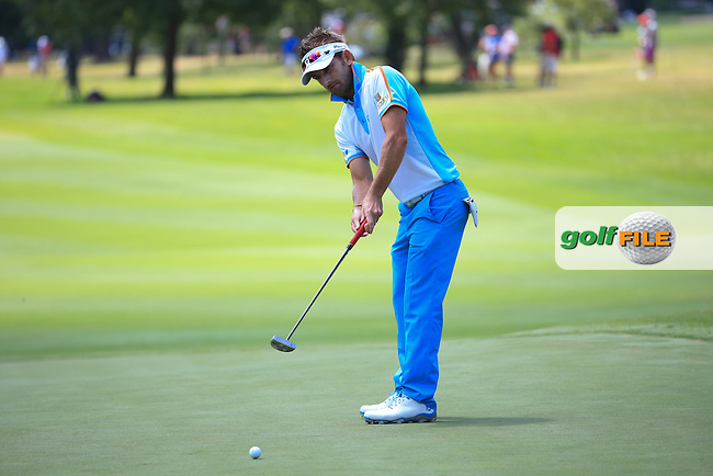 Jbe Kruger (RSA) in putting action during Round Three of the 2016 BMW SA Open hosted by City of Ekurhuleni, played at the Glendower Golf Club, Gauteng, Johannesburg, South Africa.  09/01/2016. Picture: Golffile | David Lloyd<br /> <br /> All photos usage must carry mandatory copyright credit (&copy; Golffile | David Lloyd)