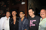 Daniel Irvine and Mark Bego and Keith Collins pose with Randy Jones (Village People) and husband Will Grega celebrate their marriage (this morning September 13, 2013) with a celebration at the 13th Annual Kings & Cowboys at DL in New York City, New York. Randy is also celebrating his birthday. Also there were Randy's mom Elaine and Will's mom Marge. Actor Keith Collins was there. (Photo by Sue Coflin/Max Photos)