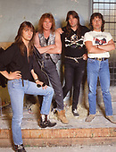 Aug 1991: UFO - New Line-up photosession
