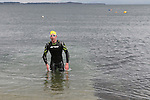 "2nd Place Oran Kane at the Clogherhead ""Round the Head Swim""....(Photo credit should read Jenny Matthews/NEWSFILE)..."