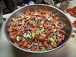 Annual St. Sava goat barbecue and buffet lunch, St. Sava Serbian Orthodox Church, Jackson<br /> <br /> Serbian Salad