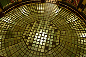 Glass floor in the rotunda of the Michigan State Capitol, which opened on January 1, 1879 in Lansing, Michigan on Saturday, June 29, 2018. It was designed by architect Elijah E. Myers, and is one of the first state capitols to be topped by a lofty cast iron dome, that was modeled on the dome of the United States Capitol in Washington, DC. <br /> Credit: Ron Sachs / CNP