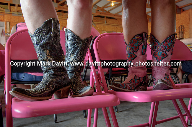 Cowgirl boots were all the rage. Pink Tractor Foundation held its fifth annual fundraiser in support of fighting cancer in St. Marys at the Brommel family farm Saturday, June 11.