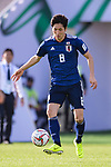 Haraguchi Genki of Japan in action during the AFC Asian Cup UAE 2019 Group F match between Japan (JPN) and Turkmenistan (TKM) at Al Nahyan Stadium on 09 January 2019 in Abu Dhabi, United Arab Emirates. Photo by Marcio Rodrigo Machado / Power Sport Images