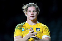 Michael Hooper of Australia during the Semi Final of the Rugby World Cup 2015 between Argentina and Australia - 25/10/2015 - Twickenham Stadium, London<br /> Mandatory Credit: Rob Munro/Stewart Communications