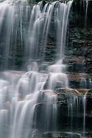 Ganoga Falls,  Ganoga Glenn<br /> The Glens Natural Area<br /> Ricketts Glen State Park<br /> Luzerne County,  Pennsylvania