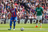 Luka Milivojevic of Crystal Palace during the EPL - Premier League match between Crystal Palace and West Bromwich Albion at Selhurst Park, London, England on 13 May 2018. Photo by Carlton Myrie / PRiME Media Images.