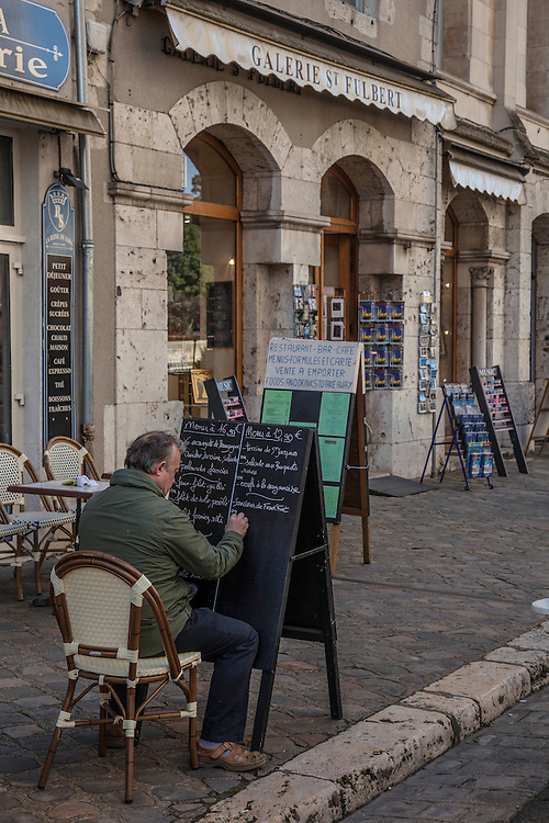 Grace and charm infuses the Old Town district of Chartres.