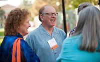 Cocktail reception and class photos in the Academic Quad.<br />