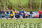 Jake Moriarty Listowel tracks Niall O'connor Beaufort  during their JC clash in Beaufort Saturday evening