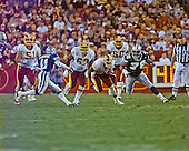 Washington Redskins wide receiver Irving Fryar (86) carries the ball after making a catch against the Dallas Cowboys at FedEx Field in Landover, Maryland on Monday, September 18, 2000.  Cowboys defensive back Kareem Larrimore (41) and defensive tackle Leon Lett (78) are in pursuit.  Also in the photo are Redskins center Mark Fisher (50), offensive guard Andy Heck (63) and offensive guard Chris Samuels (60).  The Cowboys won the game 27 - 21.<br /> Credit: Arnie Sachs / CNP