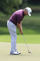 Graeme McDowell (NIR) putts on the 12th green during Thursday's Round 1 of the 2017 PGA Championship held at Quail Hollow Golf Club, Charlotte, North Carolina, USA. 10th August 2017.<br /> Picture: Eoin Clarke | Golffile<br /> <br /> <br /> All photos usage must carry mandatory copyright credit (&copy; Golffile | Eoin Clarke)