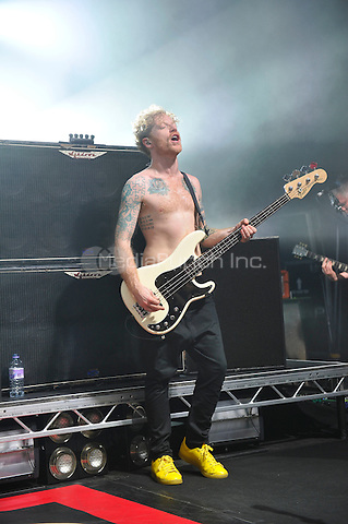 LONDON, ENGLAND - FEBRUARY 20: James Johnston of 'Biffy Clyro' performing for 'War Child' at Shepherd's Bush Empire on February 20, 2017 in London, England.<br /> CAP/MAR<br /> &copy;MAR/Capital Pictures /MediaPunch ***NORTH AND SOUTH AMERICAS ONLY***