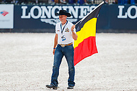Team Belgium: The Opening Ceremony. 2018 FEI World Equestrian Games Tryon. Tuesday 11 September. Copyright Photo: Libby Law Photography