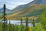 Grayling Lake, Dalton Hwy (Milepost 150), Arctic Alaska, early Fall.