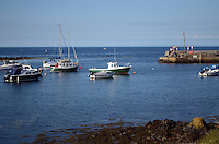 Harbour, Groomsport, Co Down, N Ireland, UK, travel, tourism, 201208100477..Copyright Image from Victor Patterson, 54 Dorchester Park, Belfast, UK, BT9 6RJ..Tel: +44 28 9066 1296.Mob: +44 7802 353836.Voicemail +44 20 8816 7153.Skype: victorpattersonbelfast.Email: victorpatterson@me.com.Email: victorpatterson@ireland.com (back-up)..IMPORTANT: If you wish to use this image or any other of my images please go to www.victorpatterson.com and click on the Terms & Conditions. Then contact me by email or phone with the reference number(s) of the image(s) concerned.