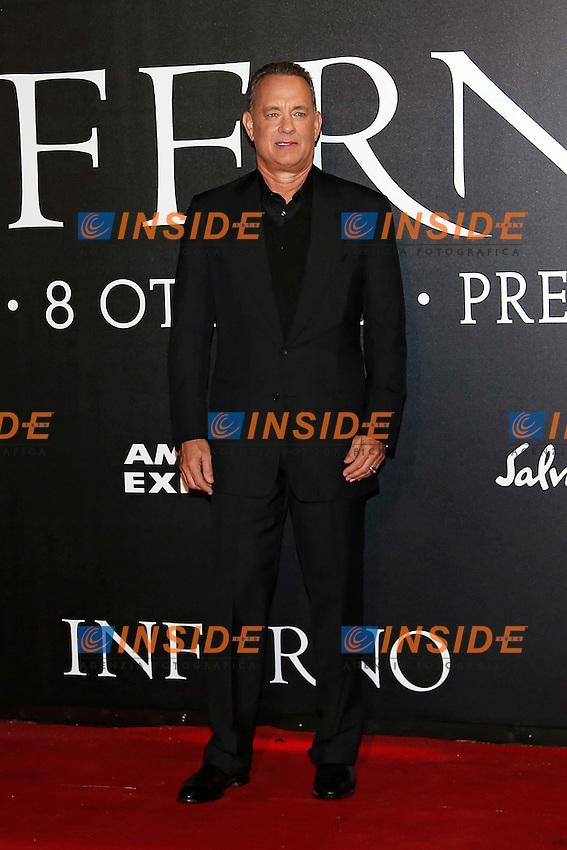 Tom Hanks <br /> Firenze 08-10-2016. 'Inferno' Anteprima Mondiale.<br /> Florence 8th October 2016. 'Inferno' World Premiere.<br /> Foto Samantha Zucchi Insidefoto