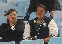 Preston North End's Fans anticipate the kick-off<br /> <br /> Photographer Mick Walker/CameraSport<br /> <br /> The EFL Sky Bet Championship - Aston Villa v Preston North End - Tuesday 2nd October 2018 - Villa Park - Birmingham<br /> <br /> World Copyright © 2018 CameraSport. All rights reserved. 43 Linden Ave. Countesthorpe. Leicester. England. LE8 5PG - Tel: +44 (0) 116 277 4147 - admin@camerasport.com - www.camerasport.com