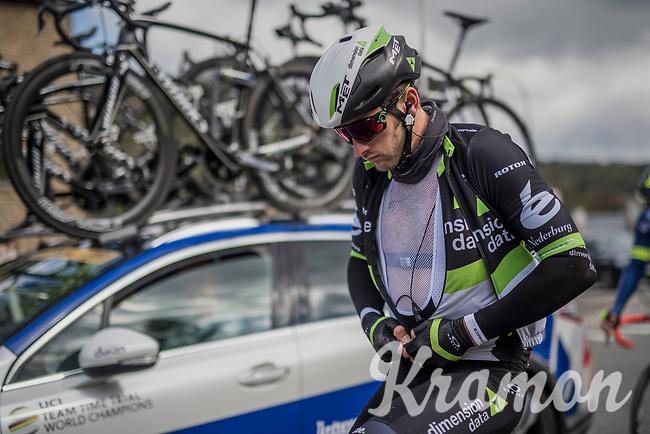 Nathan Haas (AUS/Dimension Data)<br /> <br /> 103rd Li&egrave;ge-Bastogne-Li&egrave;ge 2017 (1.UWT)<br /> One Day Race: Li&egrave;ge &rsaquo; Ans (258km)