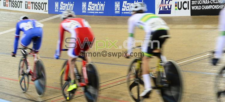Picture by Simon Wilkinson/SWpix.com - 05/03/2017 - Cycling 2017 UCI Para-Cycling Track World Championships, Velosports Centre, Los Angeles USA - Santini