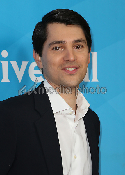 20 March 2017 - Beverly Hills California - Nicholas D'Agosto. 2017 NBCUniversal Summer Press Day held at The Beverly Hilton Hotel. Photo Credit: AdMedia