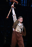 Andrew Keenan-Bolger.during the 'NEWSIES' Opening Night Curtain Call at the Nederlander Theatre in New York on 3/29/2012