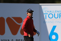 Sebastian Garcia Rodriguez (ESP) on the 6th tee during Round 3 of the Challenge Tour Grand Final 2019 at Club de Golf Alcanada, Port d'Alcúdia, Mallorca, Spain on Saturday 9th November 2019.<br /> Picture:  Thos Caffrey / Golffile<br /> <br /> All photo usage must carry mandatory copyright credit (© Golffile | Thos Caffrey)