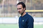 BLOEMENDAAL  - assistent-coach Karel Klaver (Bl'daal)    Hoofdklasse competitie heren, Bloemendaal-HGC (7-2). COPYRIGHT KOEN SUYK
