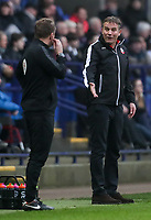 Bolton Wanderers' manager Phil Parkinson remonstrates with the fourth official<br /> <br /> Photographer Andrew Kearns/CameraSport<br /> <br /> The EFL Sky Bet Championship - Bolton Wanderers v Rotherham United - Wednesday 26th December 2018 - University of Bolton Stadium - Bolton<br /> <br /> World Copyright © 2018 CameraSport. All rights reserved. 43 Linden Ave. Countesthorpe. Leicester. England. LE8 5PG - Tel: +44 (0) 116 277 4147 - admin@camerasport.com - www.camerasport.com