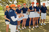 SAN ANTONIO, TX - MARCH 11, 2020: The University of Texas at San Antonio Roadrunners win the UTSA Maryb S. Kauth Invitational Golf Tournament with a 54-hole total of 886 at the San Antonio Country Club (Photo by Jeff Huehn).