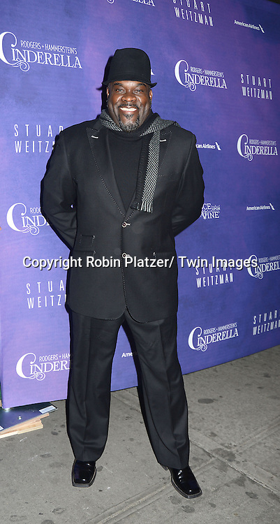 Phillip Boykin attends Rogers +  Hammerstein's Cinderella Broadway Opening night on March 3, 2013 at the Broadway Theatre in New York City.
