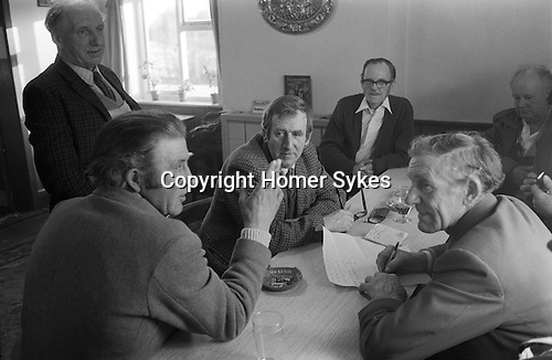 Laxton Jury Day and Court Leet. Laxton, Nottinghamshire, England 1973..November and first week of December.<br />