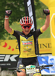 2019 Trentino MTB Challenge - Ride the Nature - 1000 Grobbe Bike Challenge - 100 Km dei Forti  il 09/06/2019 a Lavarone,  Enrica Furlan (SBTM) 2nd.<br />  © Pierre Teyssot / Mosna