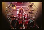 Tommy Aldridge of Whitesnake performs at Madison Square Garden in New York US