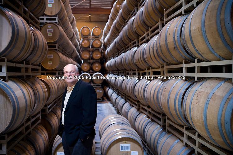 Jim Schuett - CFO - J. Lohr Winery: Executive portrait photographs by San Francisco - corporate and annual report - photographer Robert Houser.
