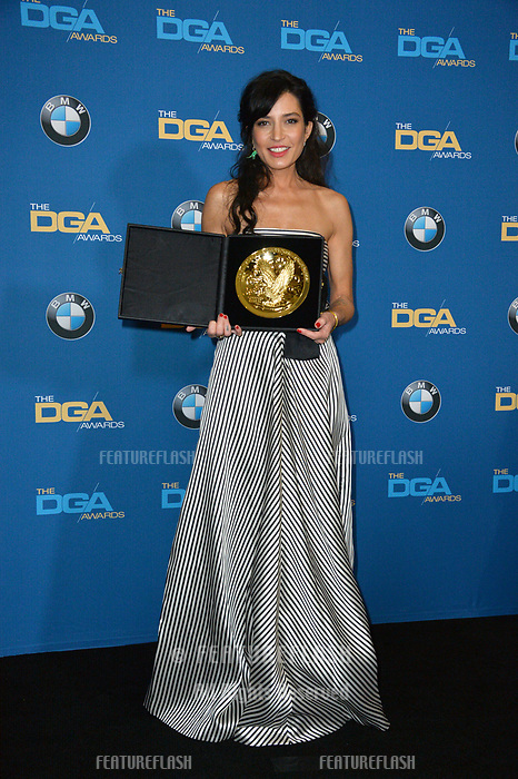 Reed Morano at the 70th Annual Directors Guild Awards at the Beverly Hilton Hotel, Beverly Hills, USA 03 Feb. 2018<br /> Picture: Paul Smith/Featureflash/SilverHub 0208 004 5359 sales@silverhubmedia.com