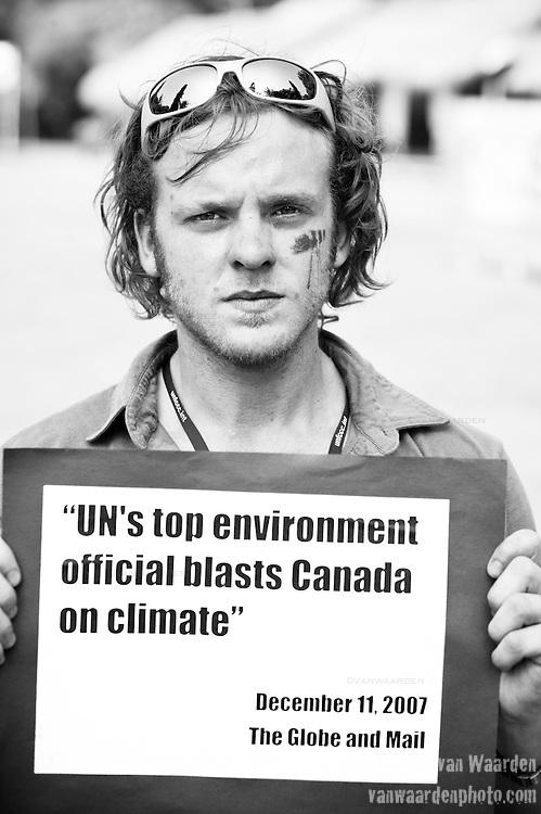 Trevor Bennett - Canadian Youth Delegation(©Robert vanWaarden, Nusa Dua, Indonesia Dec 12, 2007)