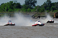 Jimmy Robb (#31), Travis Thompson, (#2) and Jeff Zeller, (#96) (SST-45 class)