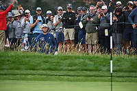 Jon Rahm (ESP) looks over his shot from the trap on 6 during round 2 of the 2019 US Open, Pebble Beach Golf Links, Monterrey, California, USA. 6/14/2019.<br /> Picture: Golffile | Ken Murray<br /> <br /> All photo usage must carry mandatory copyright credit (© Golffile | Ken Murray)