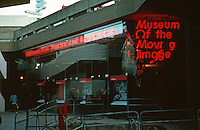 London:   Thameside Walk  #5--Museum of the Moving Image. Photo '90.